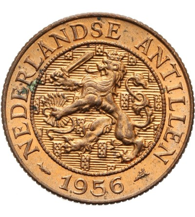 Netherlands Antilles 2 1/2 Cents 1956