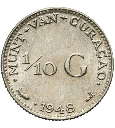 Curacao 1/10 guldena 1948