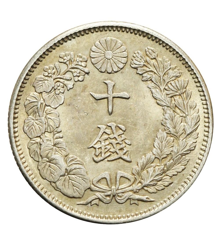 Japonia 10 Sen rok 43 / 1910 AD