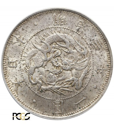 Japan Yen 1870 (Year 3) - PCGS MS 63