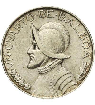 Panama 1/4 balboa 1947