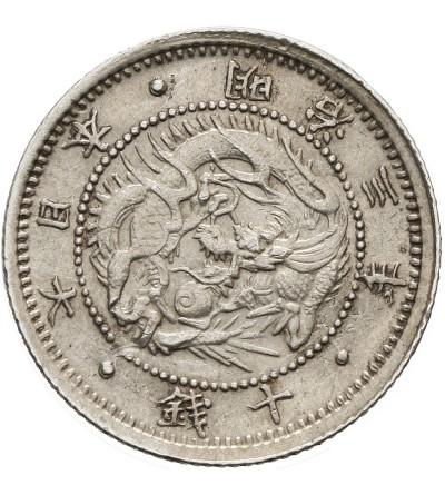 Japonia 10 sen 1870