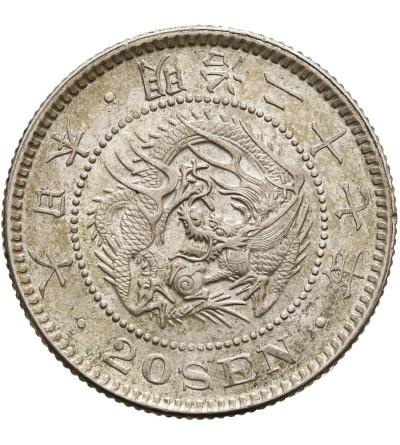 Japonia 20 sen rok 27 / 1894 AD