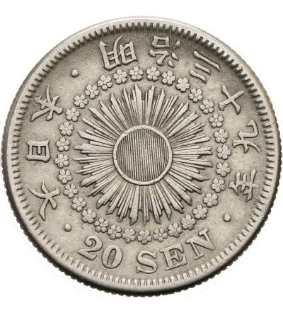Japonia 20 sen rok 39 / 1906 AD