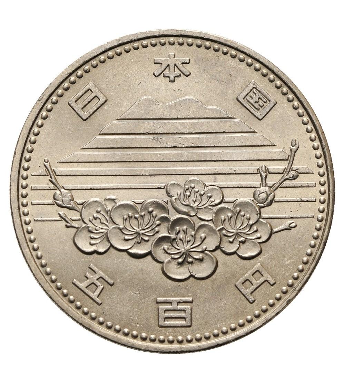 Japonia 500 yen 1985