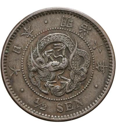 Japonia 1/2 sen rok 10 / 1877 AD