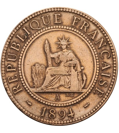 Indochiny Francuskie 1 cent 1894 A