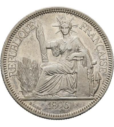 Indochiny Francuskie 1 piastre 1896