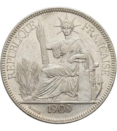 Indochiny Francuskie 1 piastre 1909