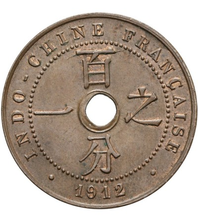 Indochiny Francuskie 1 cent 1912 A