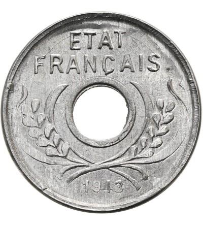 Indochiny Francuskie 5 cents 1943