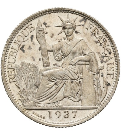 French Indo-China 20 Cents 1937