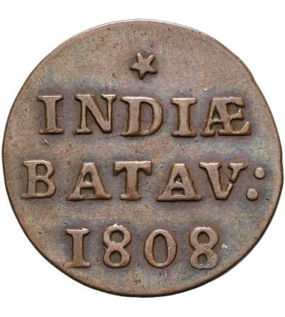 Wschodnie Indie Holenderskie 1 Duit 1808, Republika Batawska,