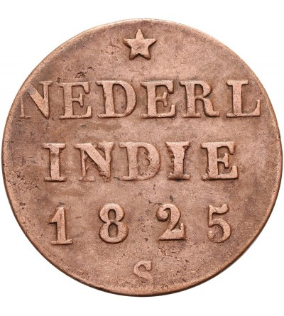 Wschodnie Indie Holenderskie 1/4 Stuiver 1825 S