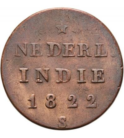 Wschodnie Indie Holenderskie 1/2 Stuiver 1822 S
