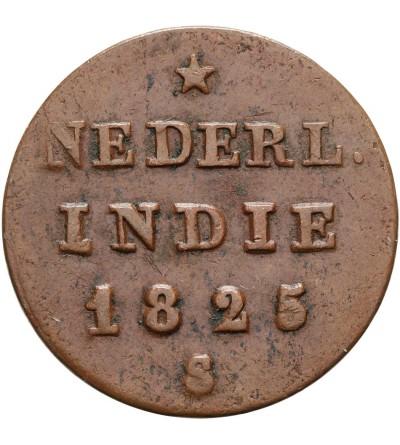 Wschodnie Indie Holenderskie 1/2 Stuiver 1825 S