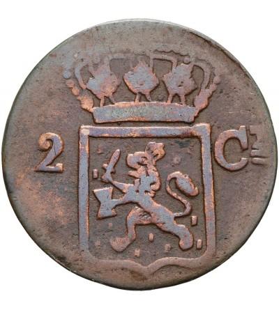 Netherlands Antilles 2 Cents 1839 J
