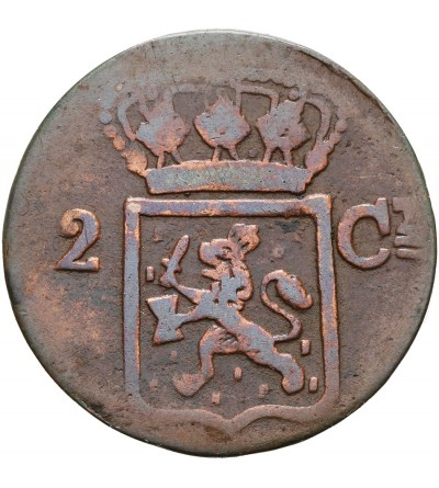 Wschodnie Indie Holenderskie 2 centy 1839 J