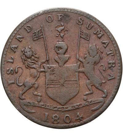Wschodnie Indie Holenderskie 1 Keping AH 1219 / 1804 AD, Sumatra (kupcy Singapurscy)