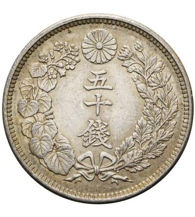 Japonia 50 sen rok 6 / 1917 AD