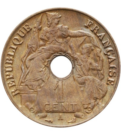 French Indo-China Cent 1917 A