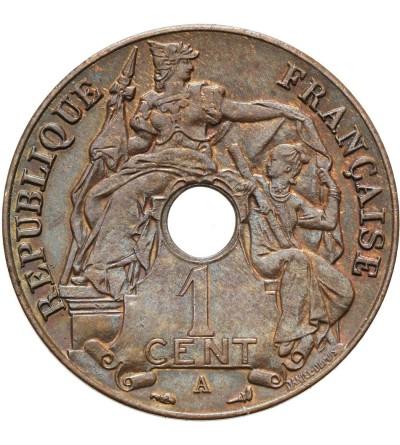 Indochiny Francuskie 1 cent 1921 A