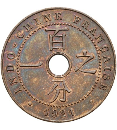 French Indo-China Cent 1921 A
