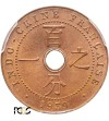 French Indo-China Cent 1939 A - PCGS MS 66 RD