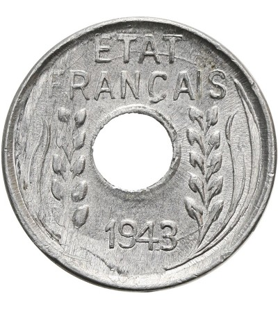 Indochiny Francuskie 1 cent 1943