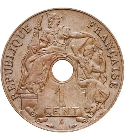 Indochiny Francuskie 1 cent 1938 A