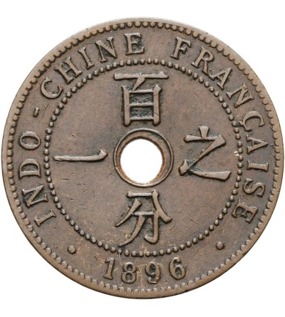 Indochiny Francuskie 1 cent 1896 A