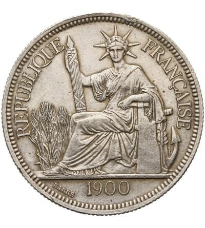 Indochiny Francuskie 1 piastre 1900 A