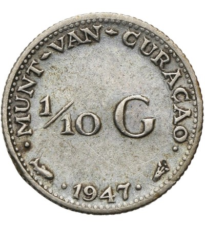 Curacao 1/10 Gulden 1947