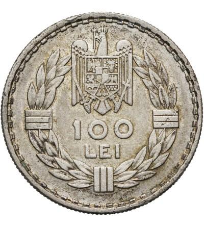 Rumunia 100 lei 1932, (A) Paryż
