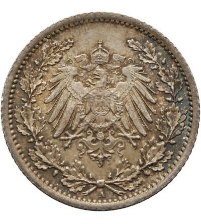 Niemcy. Cesarstwo. 1/2 marki 1914 A
