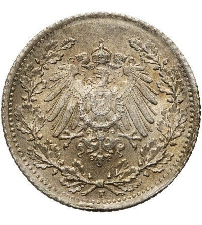 Niemcy. Cesarstwo. 1/2 marki 1915 F