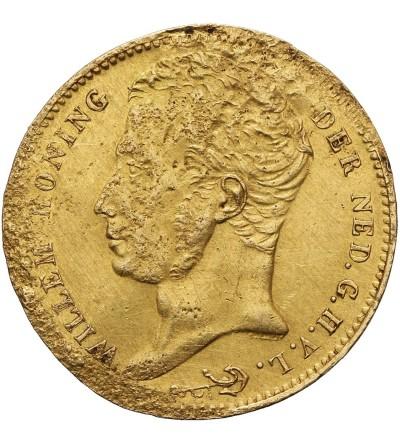 Holandia 10 guldenów 1824 B
