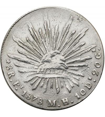 Meksyk 8 reali 1878 Pi MH
