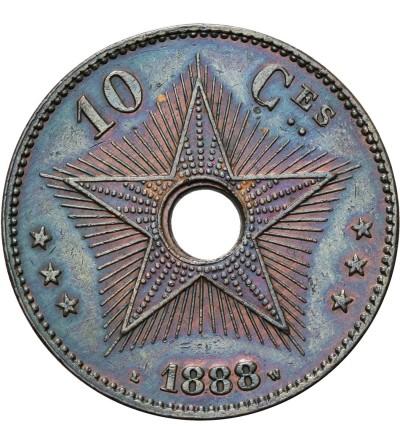 Kongo Belgijskie 10 Centimes 1888