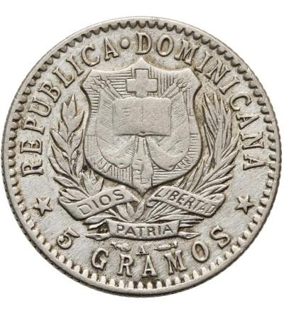 Dominican Republic  20 Centimes 1897 A