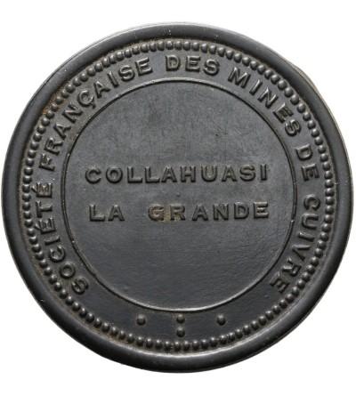Chile Token 5 Pesos ND (Ca. 1912), Collahuasi mine