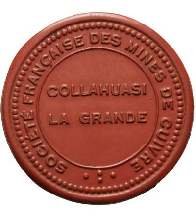 Chile Token Peso ND (Ca. 1912), Collahuasi mine