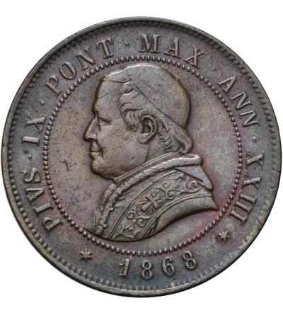 Watykan 4 Soldi 1868 / AN XXIII, Pius IX