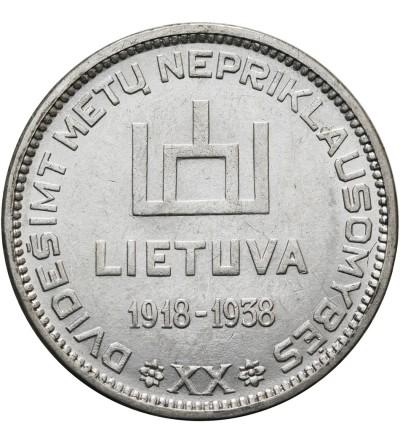 Litwa 10 litów 1938, Antanas Smetona