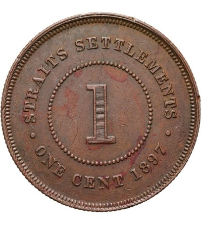 Malaje - Straits Settlements 1 cent 1897