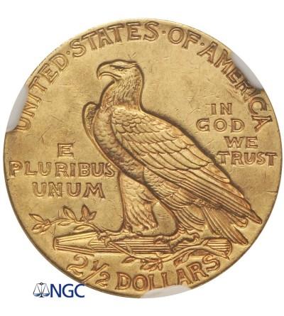 USA 2,5 dolara 1929, Quartel Eagel - Indian Head - NGC MS 61
