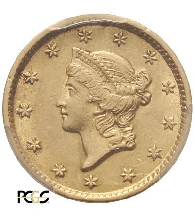 USA Dollar 1854, Liberty Head - PCGS AU 58