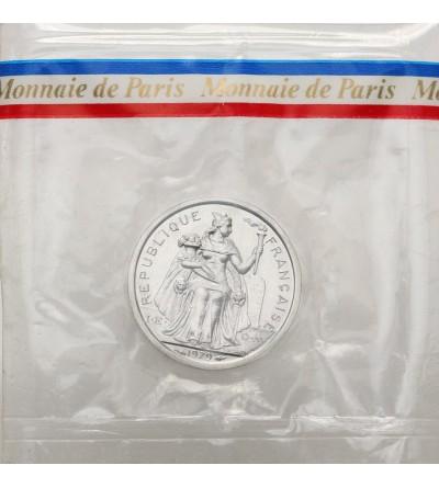 Francuska Polinezja 1 frank 1979 - Piedfort