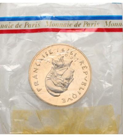 Francuska Polinezja 100 franków 1979 - Piedfort