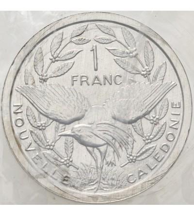 Nowa Kaledonia 1 frank 1979 - Piedfort